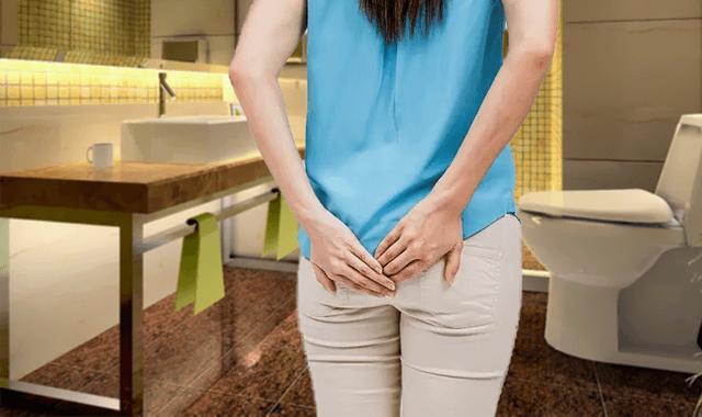 Девушка страдает от зуда анального отверстия