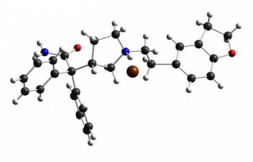 Модель молекулы дарифенацина