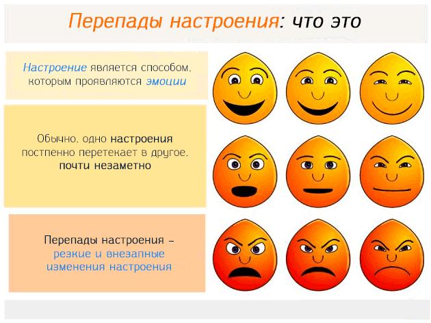 Перепады настроения – что это такое