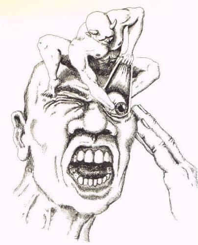 Кластерная головная боль – фантазия художника