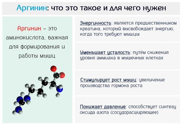 Аргинин – это аминокислота, важная для формирования и работы мышц