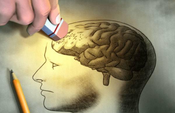 Процесс разрушения мозга лекарствами