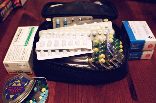 Домашняя аптечка полная лекарств