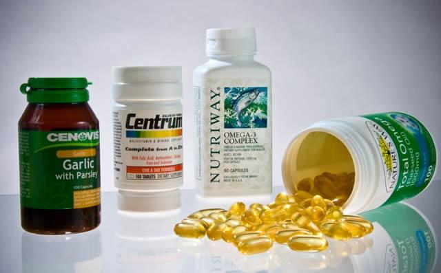 Набор витаминов для лечения акне