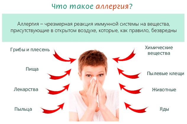 может быть аллергия на киви