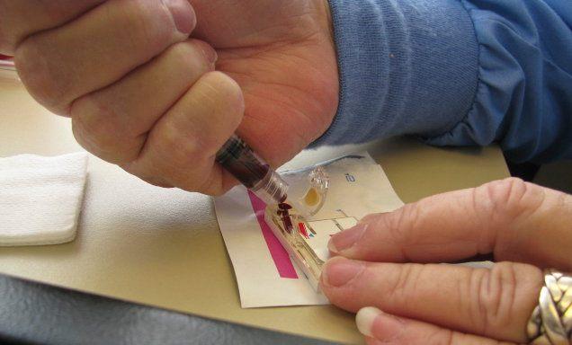 Выполнение домашнего теста на концентрацию креатинина в крови