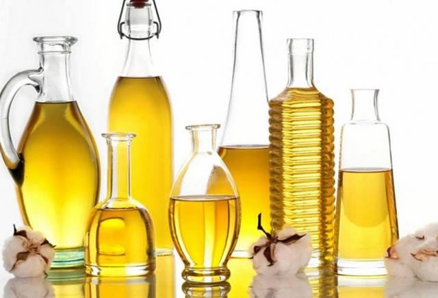 Набор полезных для здоровья растительных масел