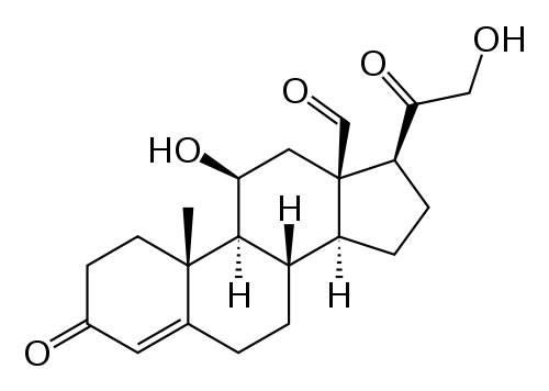 Структурная форма альдостерона