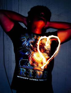 Горящее сердце – образ изжоги