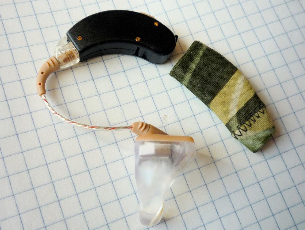 Слуховой аппарат для коррекции недостатка слуха