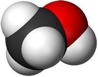 Модель молекулы метанола