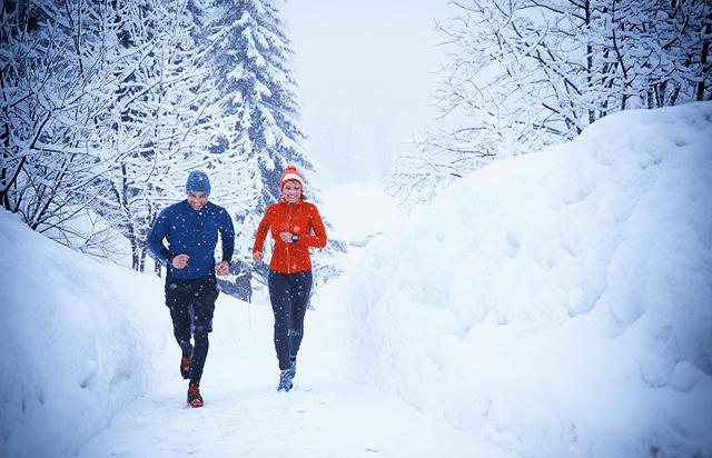 Пробежка зимой очень полезна – если правильно подготовиться