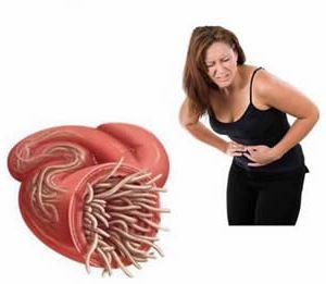 Паразиты в кишечнике и боли в животе